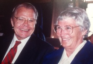 Picture of Mom and Dad together about a decade ago, at a very happy occasion