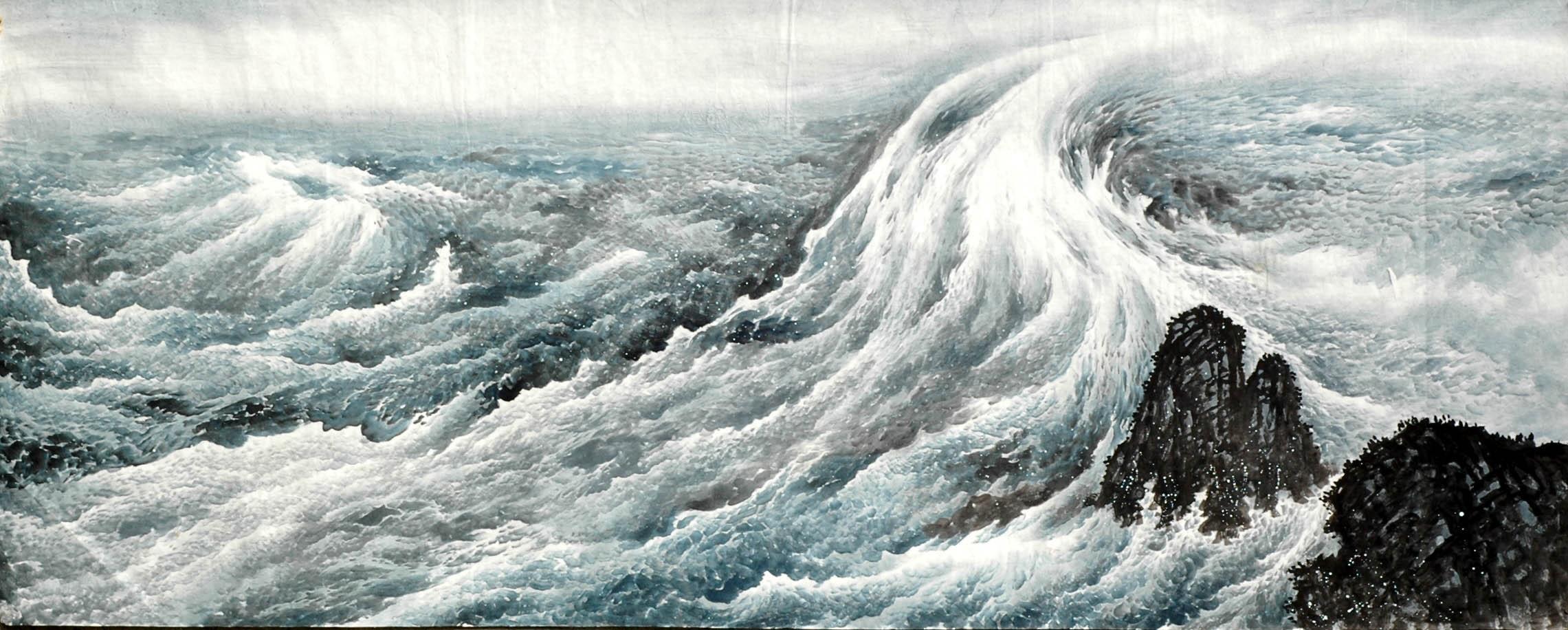 Story deep sea wave