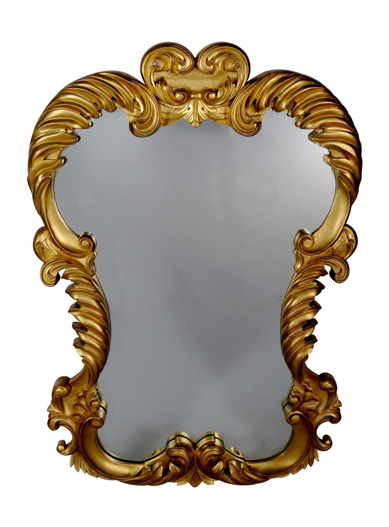 Mirror, gilt frame