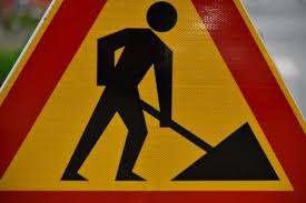 Danger traffic sign